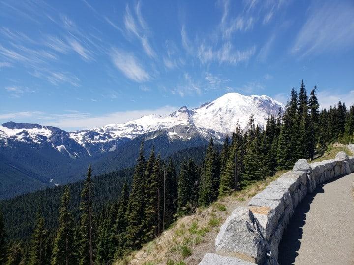 views of mount rainier