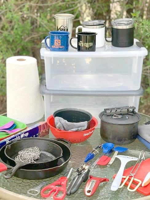 Camp Kitchen Gear & Packing List